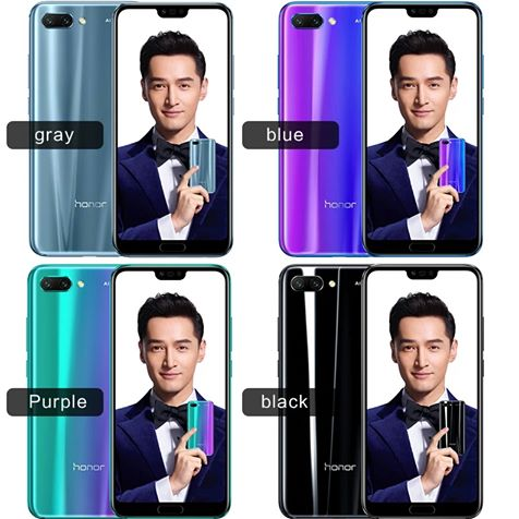 Huawei Honor 10 4GB and 6 GB variants in all colors available for order. Contact us now to place your order. Price is $480 for 4 GB 128 GB and $520 for 6 GB 64 GB and $540 for 6 GB 128 GB.