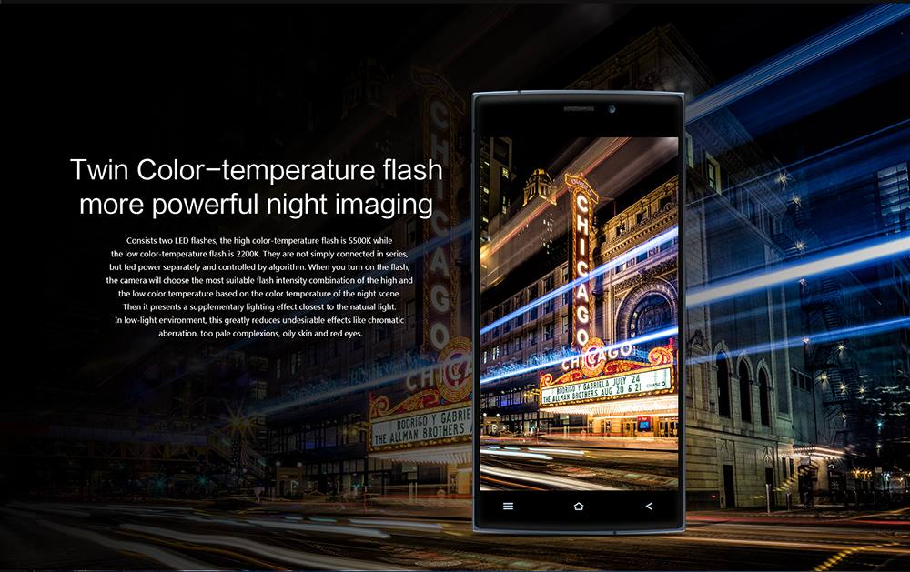 UMI ZERO:Twin Color-temperature Flash More Powerful Night Imaging
